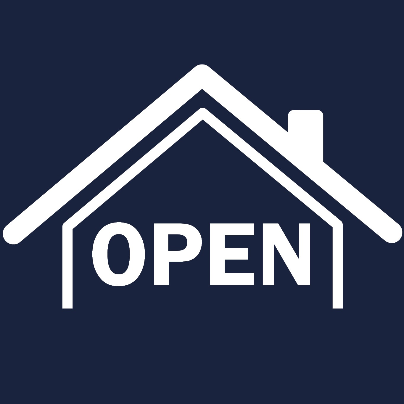 OPEN HOUSE THE LINK icon